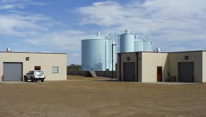 Lake Meredith Salinity Control Project Headquarters near Logan, New Mexico