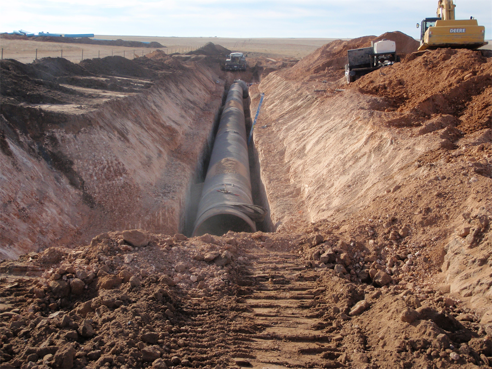 "Expansion of the 54"" pipeline - 2011"